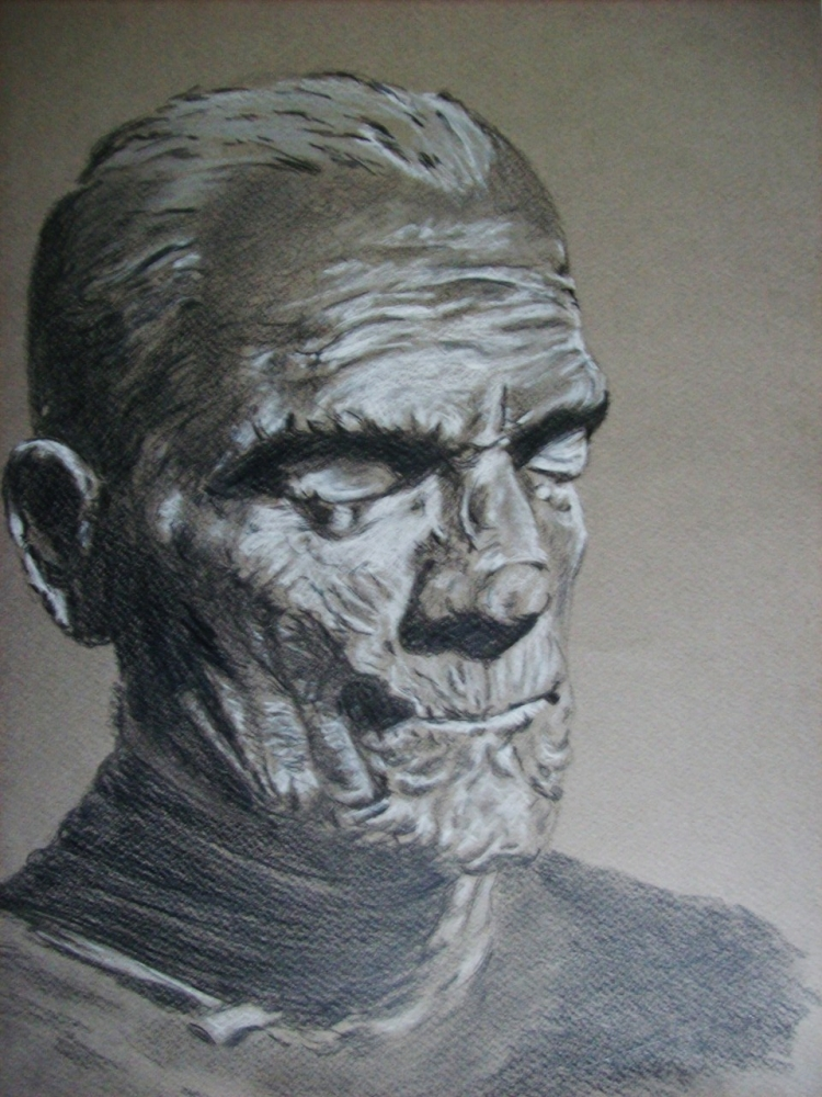 Boris Karloff by Tom-Heyburn